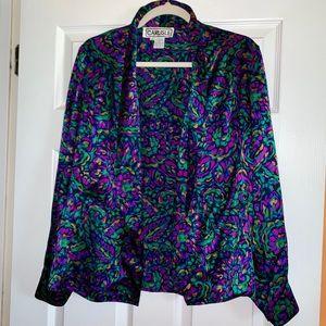 Carlisle Vintage Top 100% Silk Size 8